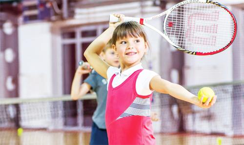Начальное обучение технике в большом теннисе