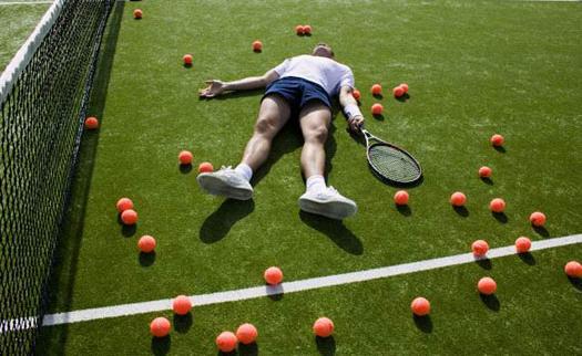 Выносливость в теннисе