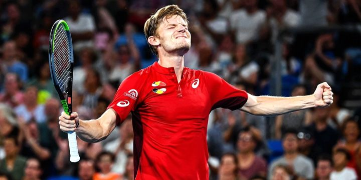 Давид Гоффен — современный теннисный король Бельгии.